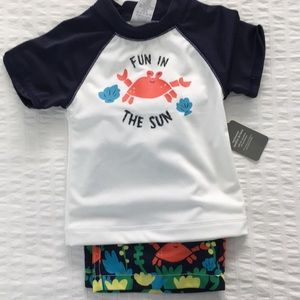 Gymboree swimwear set